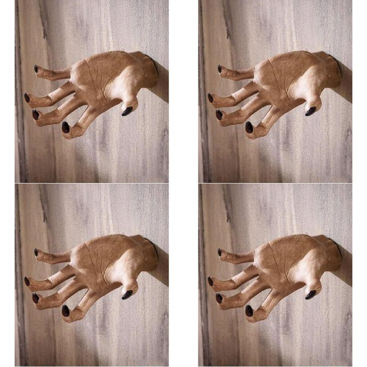 CREEPY GRABBING HAND WALL HANGER CERAMIC Halloween Party Decoration MUST HAVE #KNLStore