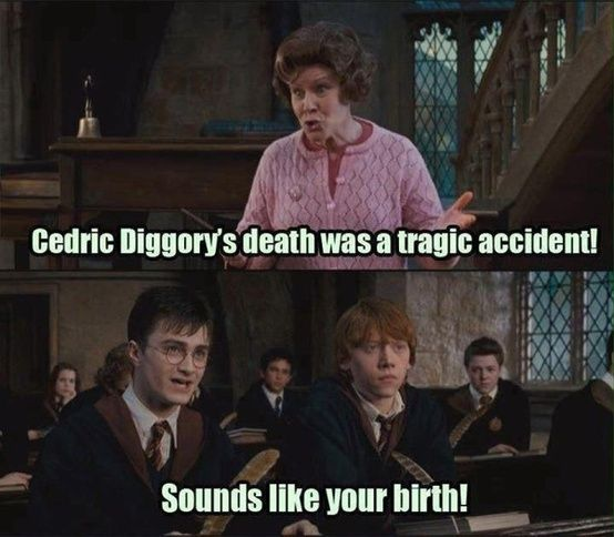 Harry Potter humor... too good for words