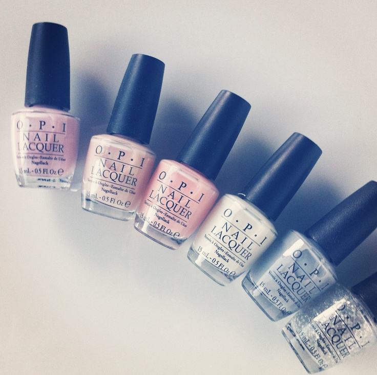 OPI Ballerina Nail polishes