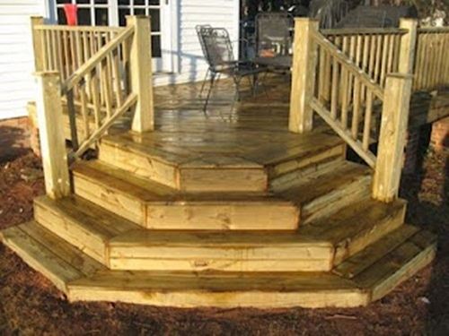 Image detail for -Contemporary Exterior Home with Deck Stairs from Wooden Design ...