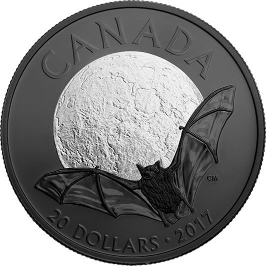 Buy Now: http://goccf.com/rcm/itm/prod3002519 RCM New Release: 2017 1 oz. Pure Silver Coin - Nocturnal by Nature: The Little Brown Bat - Coin Community Forum
