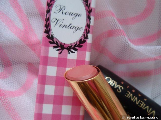 Стойкая помада Vivienne Sabo Rouge Vintage в оттенке #409