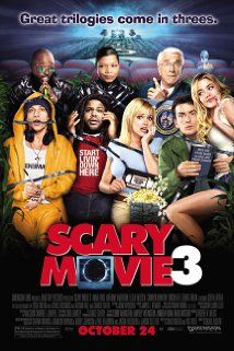 Scary Movie 3 (2003) In the third installment of the Scary Movie franchise, Cindy has to investigate mysterious crop circles and video tapes, and help the President in preventing an alien invasion.