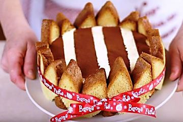 Charlotte di pandoro | Video ricetta