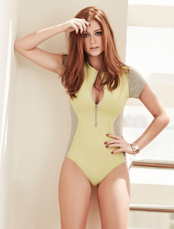 Marina Ruy Barbosa usa look decotado e ensina rotina para se manter com 49 kg