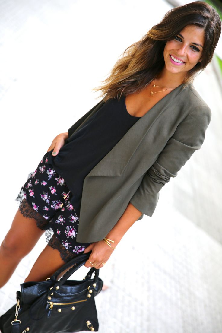 Flowers and Lace - I'm in love! So cute, and dressy, but not too much either! <3