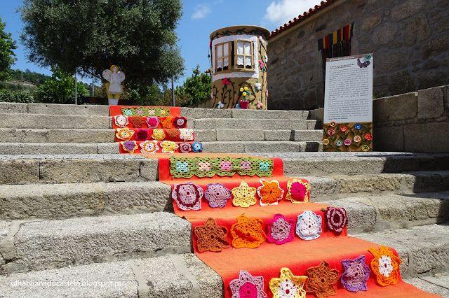 A Arte Do Crochet Nas Ruas De Cerveira Arte Rua Viana Do Castelo