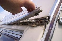 Wizards Caravan Repair | fixing exterior seals