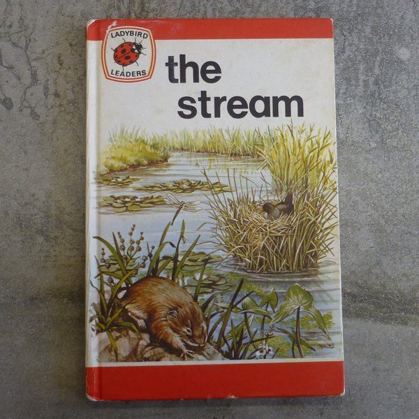 Vintage Ladybird Book Ladybird Leaders The Stream by Harold Stanton Illustrated by David Palmer Photography by John Moyes Series 737 no.27 Printed 1976, England
