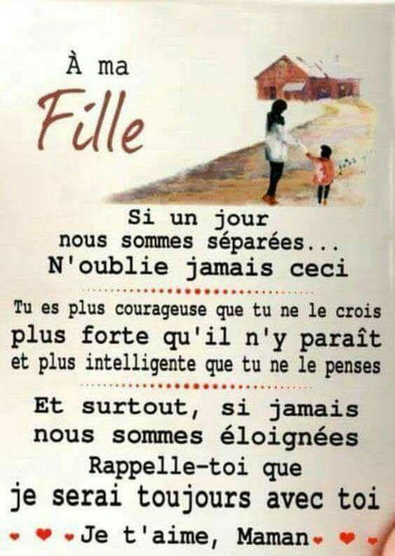 Citation Ma Fille Je T Aime : citation, fille, Lettre, Enfant, Citation, Enfants,, Maman, Citation,, Belles, Citations