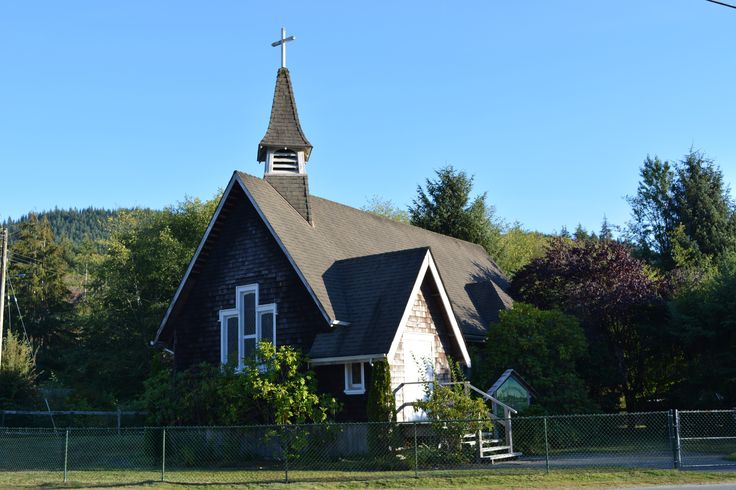 St Mary's Ecumenical Church Port Renfrew 1875
