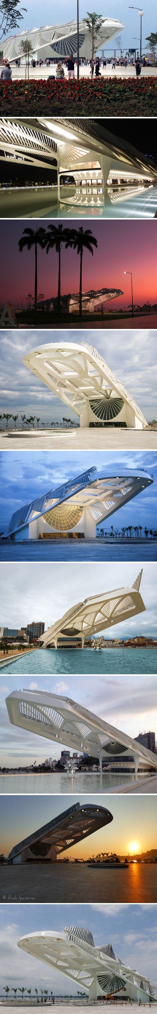 Museum of Tomorrow Rio de Janeiro - Brazil / Museu do Amanhã, Brasil, South America – design by Santiago Calatrava, architect