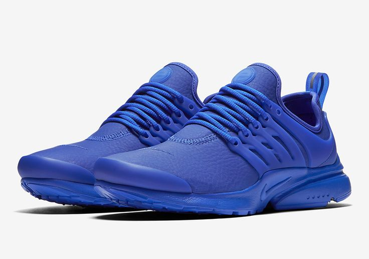 "#sneakers #news  Nike's Leathery Prestos Release In ""Paramount Blue"""
