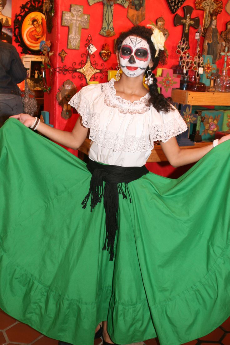 day of the dead costume inspiration - Mexican Themed Halloween Costumes