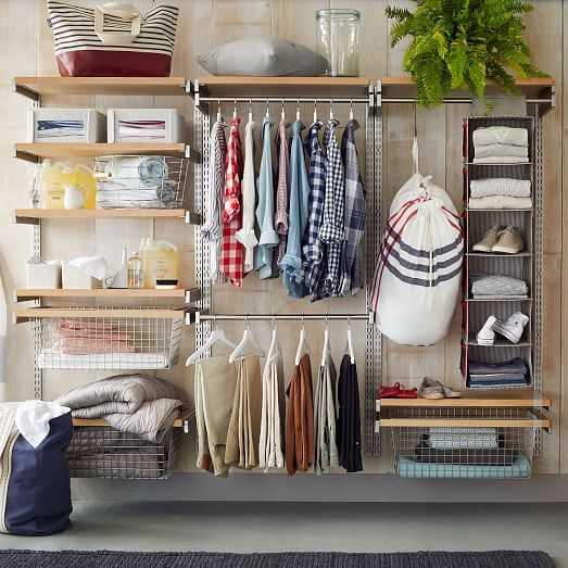 how to build your own closet shelves