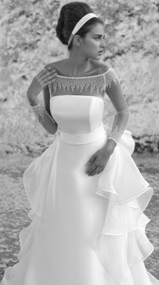 wedding dress from Luisa Sposa