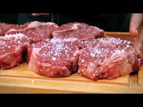 Churrasco - Fraldinha e bife ancho na grelha