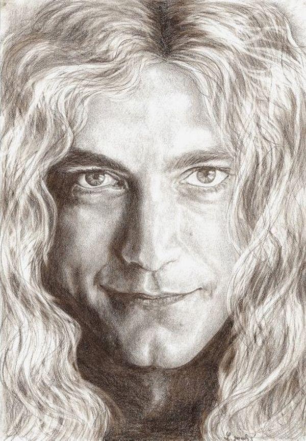 Portrét, Robert Plant