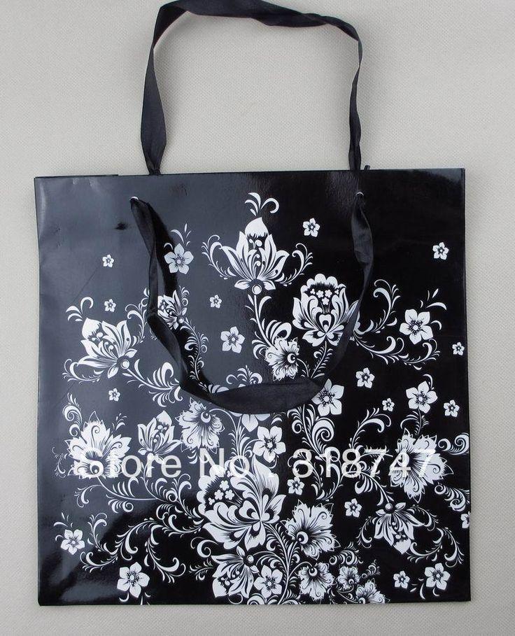 Дешевое Бесплатная доставка новой пустой черный Цветочный дизайн подарок бумажный мешок, модный подарок бумажный мешок 25x10x25cm (10pcs/lot) 087002, Купить Качество Пакеты для упаковки непосредственно из китайских фирмах-поставщиках:       Обратите внимание: если ваш заказ общая сумма достигла   $ 200  Мы изменим перевозку груза из ChinaPos