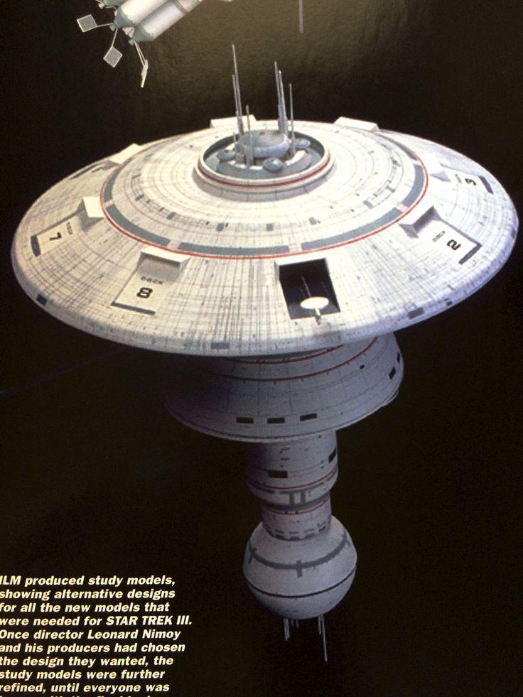 The Star Trek Prop, Costume & Auction Blog: Star Trek III Concept Art and Model Photos