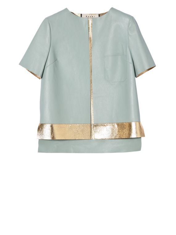 Кожаная куртка Для Женщин Marni - Виртуальный Бутик Marni для @@NATION@@