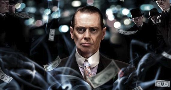 Steve Buscemi as Nucky Thompson - Boardwalk Empire