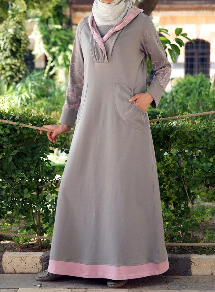 SHUKR USA | Maxi Sweaterdress Hoodie - so need this for winter!