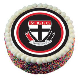 St Kilda Saints Cake Icing Market Sportscomau cakepins.com