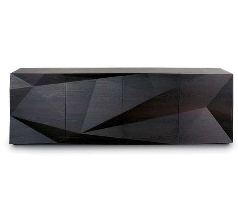 RESOURCE FURNITURE. Crash Sideboard. Wow. The power of shadow and light. Simple angles and lines transform this standard piece of furniture from utilitarian to mesmerizing beauty.
