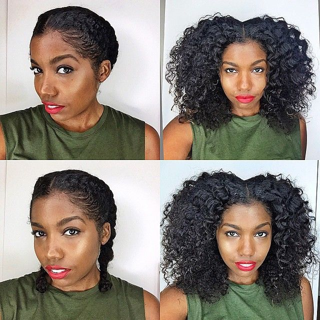 58 best protective styles for natural hair images on pinterest i had a super lazy hair week y pmusecretfo Images