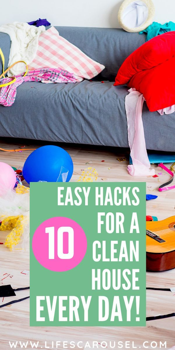 10 Easy Tips to Keep Your House Clean