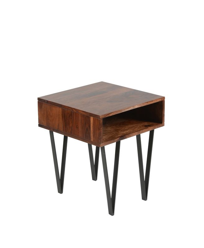 The Matrix Side Table- Sheesham Rosewood from LH Imports is a unique home decor item. LH Imports Site carries a variety of Matrix and other  Collections furnishings.