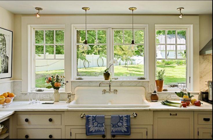 Die 11 besten Bilder zu Kitchen sink window auf Pinterest | Lampen ...