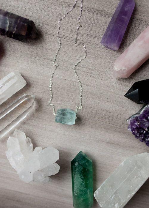 Aquamarine Necklace Aquamarine Aquamarine Jewelry by Korizzashop
