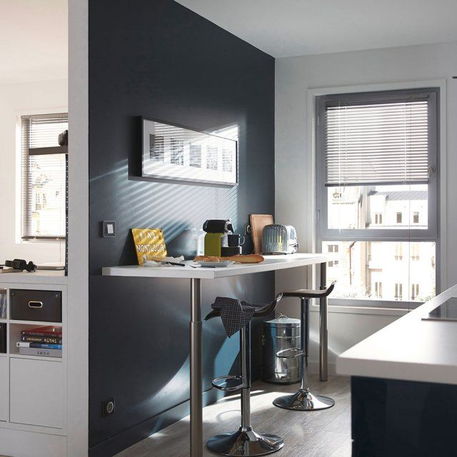 bar pour separer cuisine salon maison design. Black Bedroom Furniture Sets. Home Design Ideas