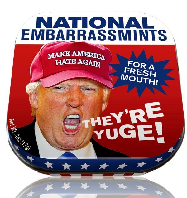 National Embarrassmints in Donald Trump Stocking Stuffers