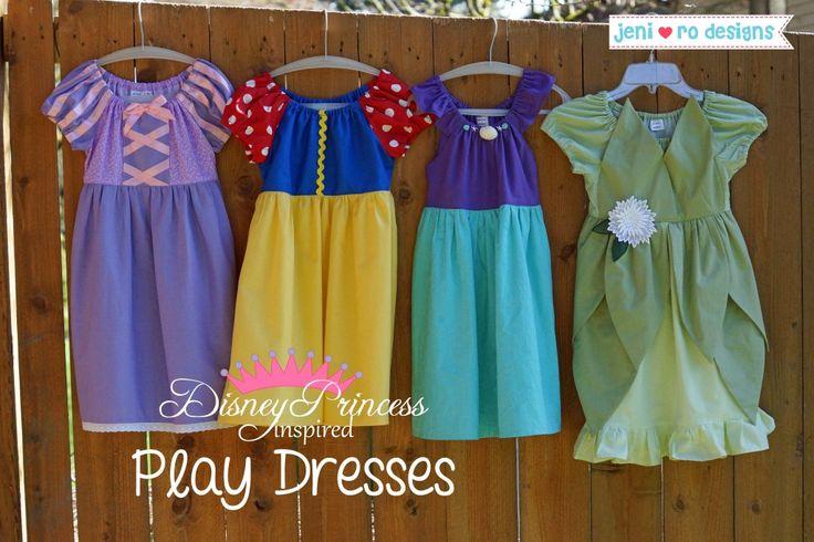 Disney Inspired Play Dresses!  jenirodesigns.com
