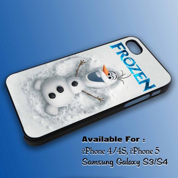 Disney frozen olaf cover  for iPhone 4/4S5 case by MOLIMOLICASE, $14.75