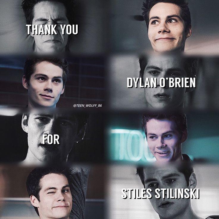 #DylanO'Brien #StilesStilinski #TW