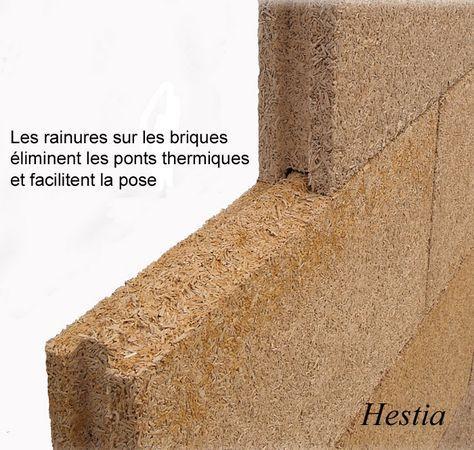 brique chanvre isolant exterieur thermique phonique acoustique naturel ecologique hqe