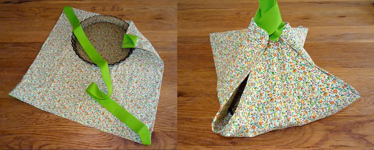 Sac à tarte - Casserole carrier -  BizBiz Handmade -  couture · bag · sac · sewing · casserole · carrier · dish · pie · porte