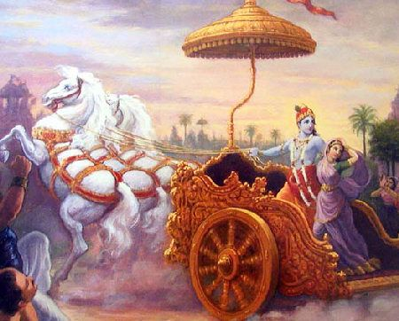 Lord Krishna spoke Bhagavat Gita when He was 90 years. He spent 3 years 4 months in Gokul, 3 years 4 months in Vrindavan, 3 years 4 months in nandagram, 18 years and 4 months in Dwarka and 96 years and 8 months in Dwarka. KRISHNA WIVES- 16,108 palaces in Dwarka. Each wife on average has 10 sons.