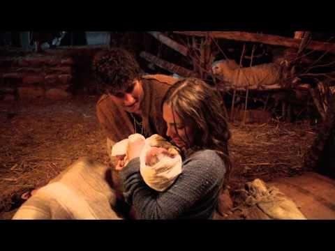 """the bible series"" joseph, mary and baby jesus"