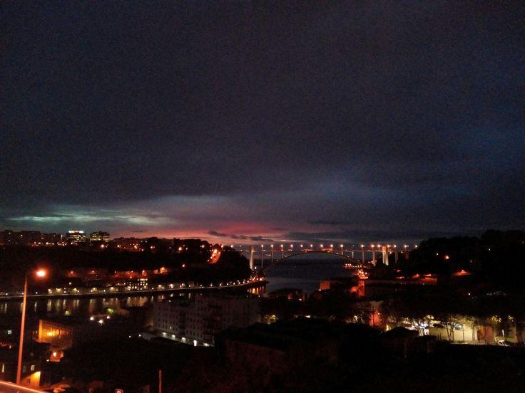 Vista de Massarelos para a Ponte da Arrábida Final da tarde💟