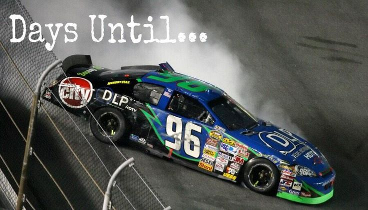 Tony Raines is spinning with excitement because the #Kobalt400 is 96 days away! #LVMScountdown #Vegas