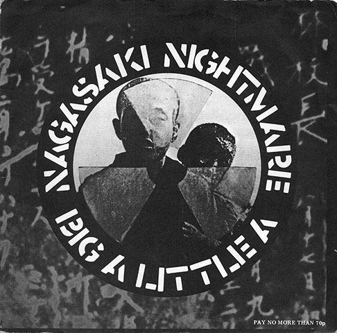"""Crass: Nagasaki Nightmare Art and design by Crass. """"Crass record sleeves were a mine of information, illustration and agit-prop design"""""""