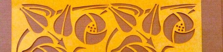 Чарльз Ренни Макинтош Места - The Lansdowne Дом трафареты и краски отделки