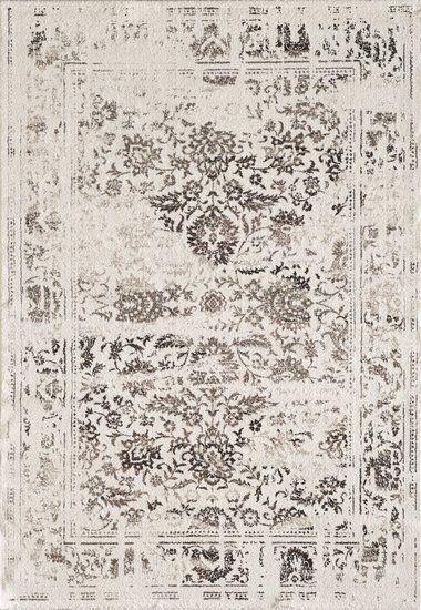 Vintage ecru vloerkleed | Vintage vloekleden en karpetten - vloerkleeddiscounter