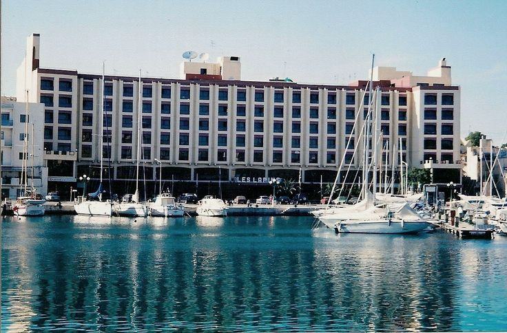 Hotel Les Lapins, Ta X'biex, Malta.  I stayed here several times - great view of the marina full of sailboats and yachts.