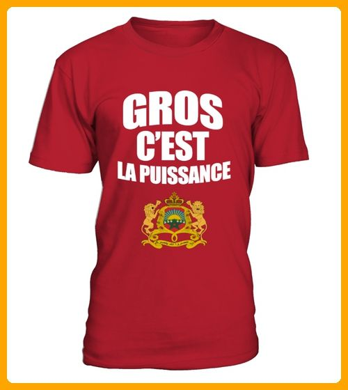 Teeshirt Maroc drapeau rouge - Foto shirts (*Partner-Link)